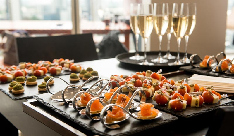 Wedding Catering Menus at Knoxville Hotel
